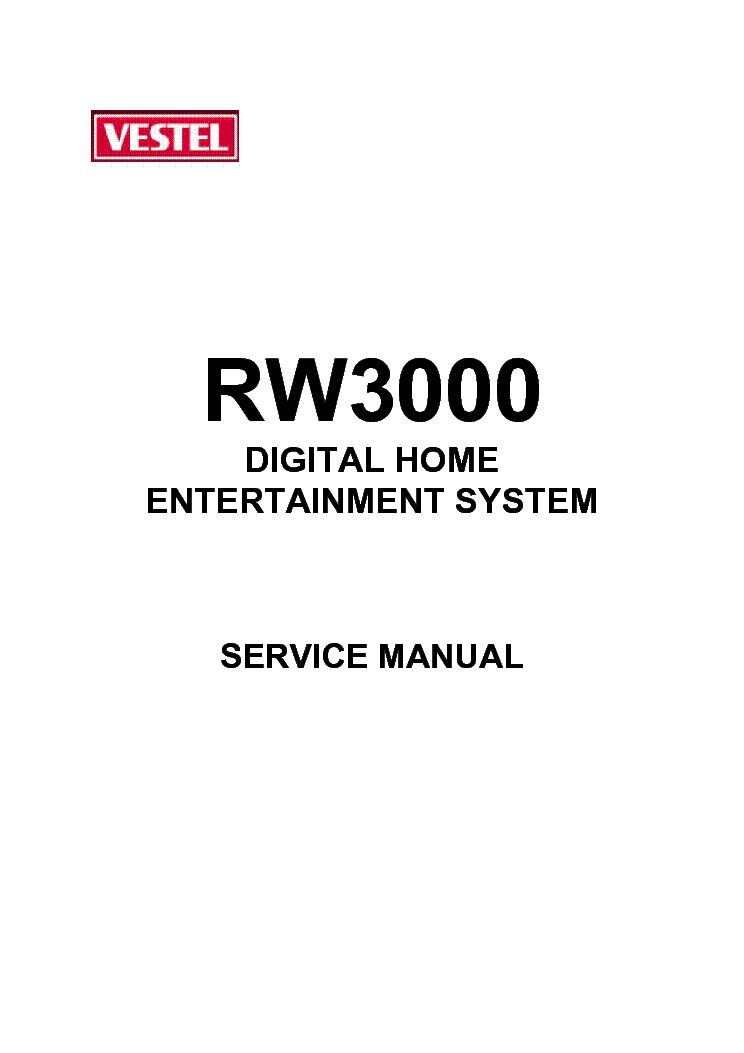 VESTEL DVD-2200 Service Manual download, schematics