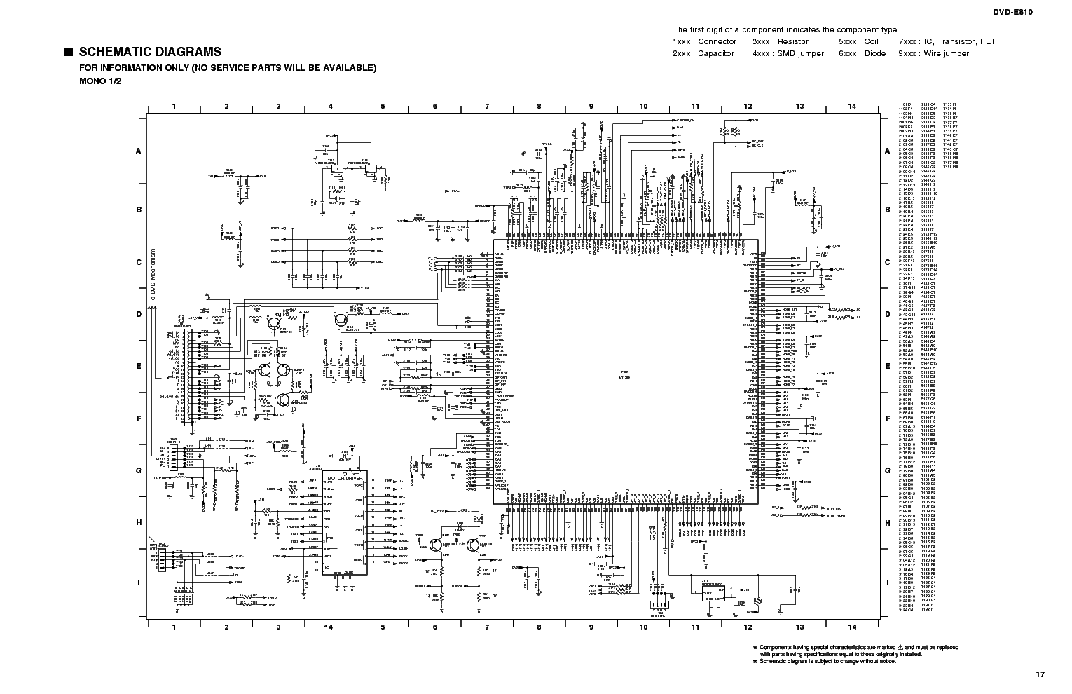 YAMAHA DVD-S840 Service Manual download, schematics