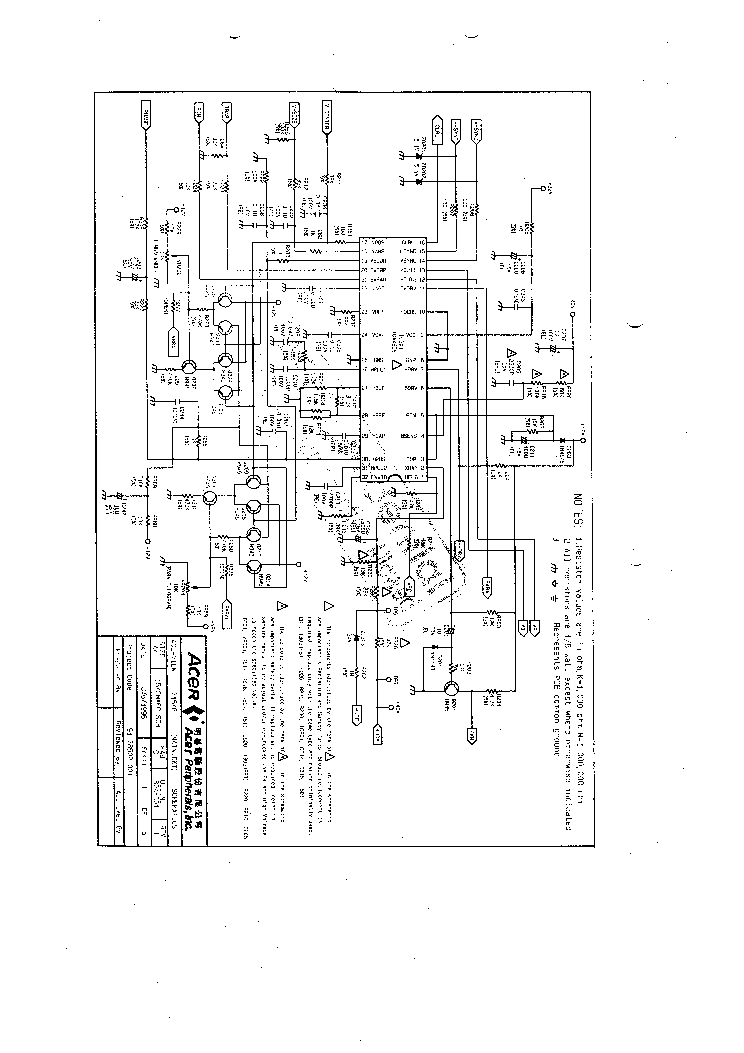 ACER 7154E SCH Service Manual download, schematics, eeprom