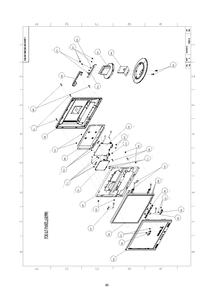 ACER AL1914 Service Manual download, schematics, eeprom