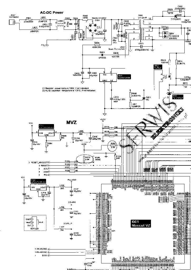 ACER AL512 AL513 SCH Service Manual download, schematics