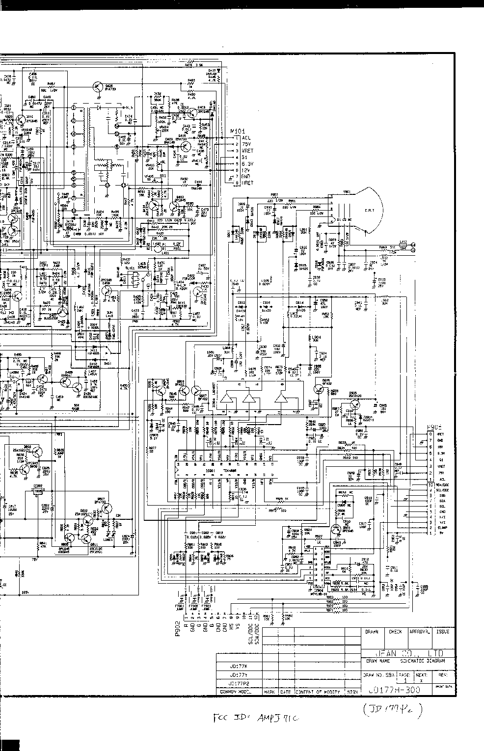 COMPAQ-441 Service Manual download, schematics, eeprom