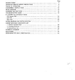 tandy cm 4 color monitor sm service manual 2nd page  [ 779 x 1020 Pixel ]