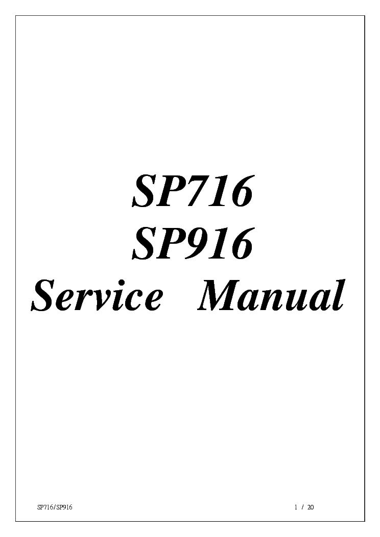 FUJITSU-SIEMENS SCALEOVIEW C19-4 MODEL 900P SP716 SP916 SM