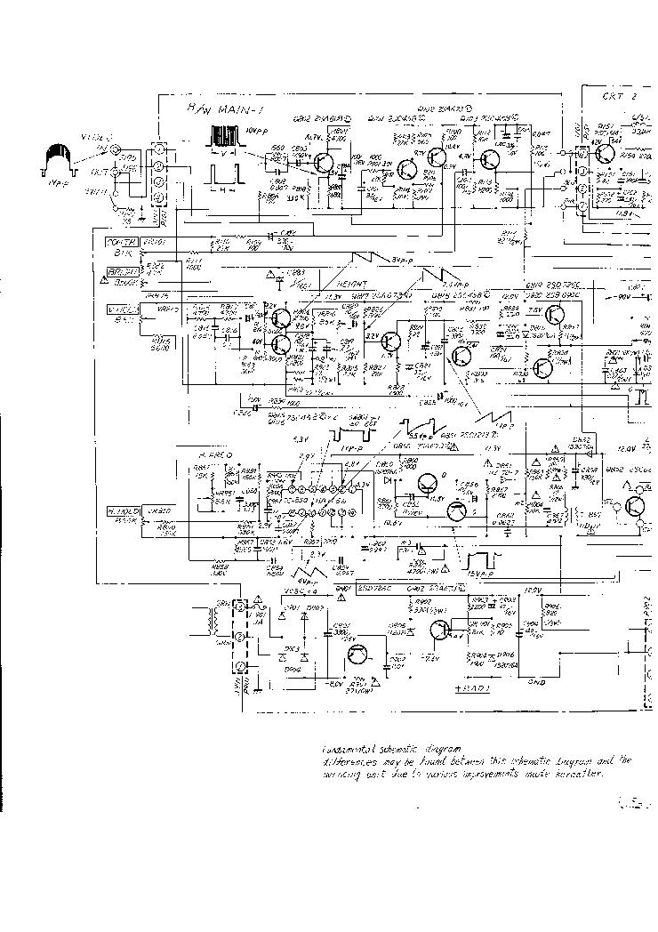 HITACHI VM-129 Service Manual download, schematics, eeprom