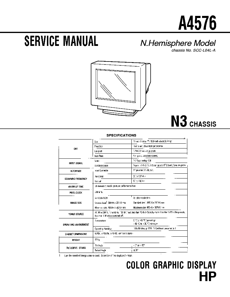 HP L1940T GM5321 A00 SM Service Manual free download