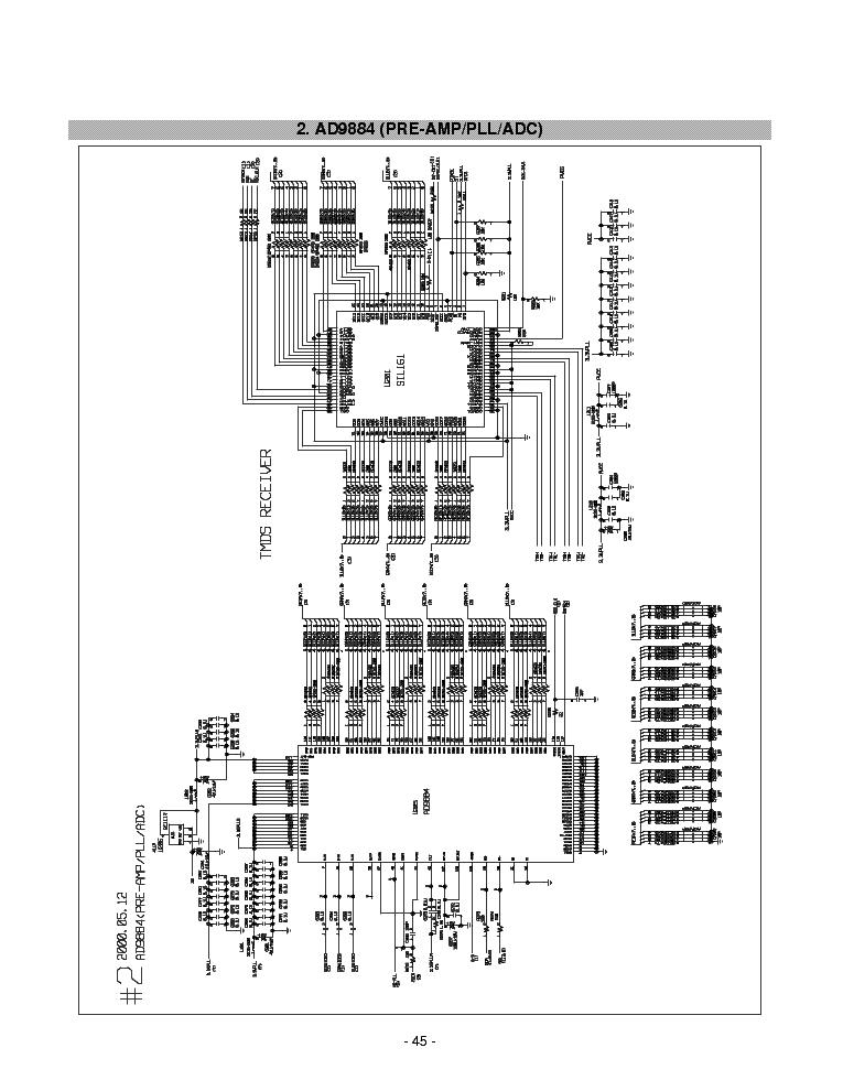 LG 882LE-LS882C Service Manual download, schematics