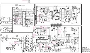 LG CB563G Service Manual download, schematics, eeprom