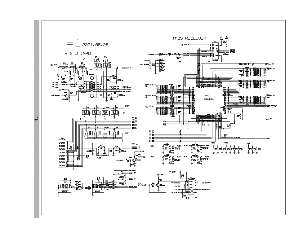 LG FLATRON L1720B SM Service Manual download, schematics