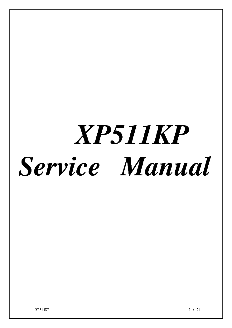 MAG LCD LT561 Service Manual download, schematics, eeprom
