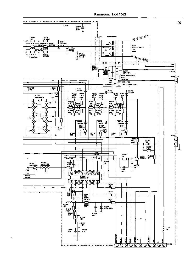 PANASONIC PT-47WX49E P5PW-SVCMNLS SM Service Manual