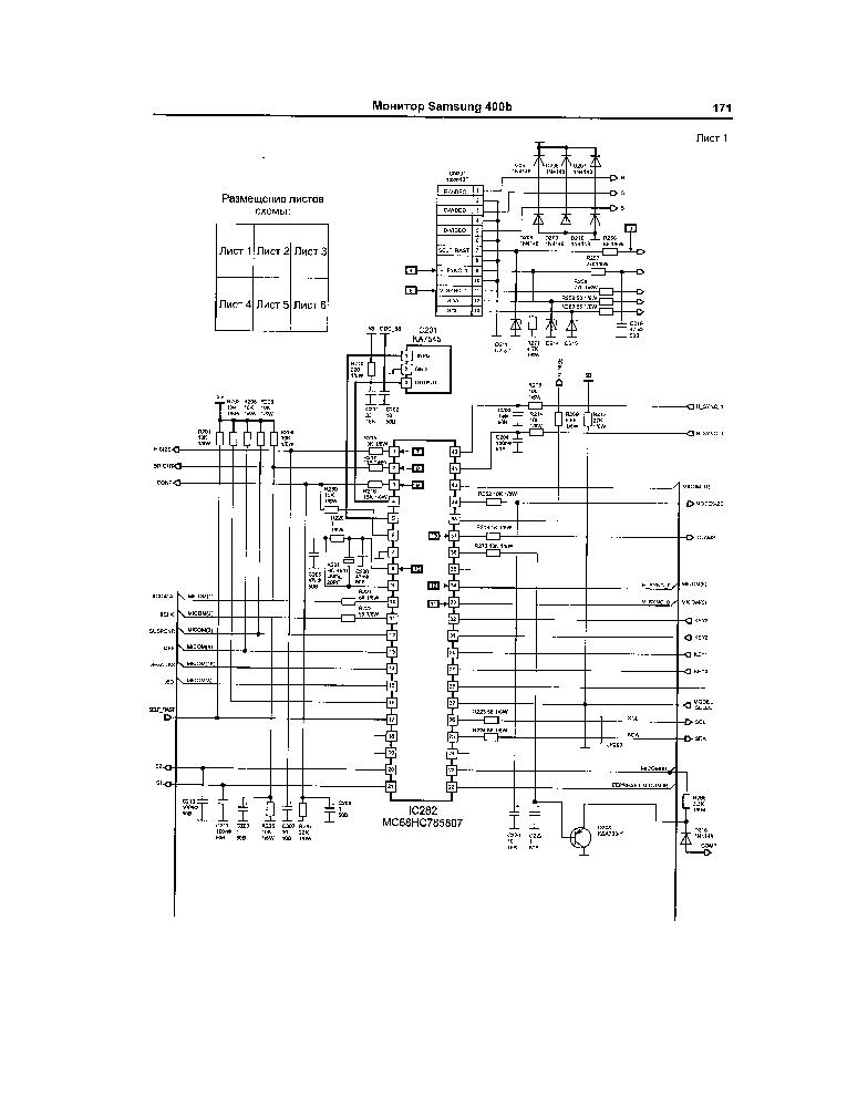 SAMSUNG 400V CRT MONITOR Service Manual download