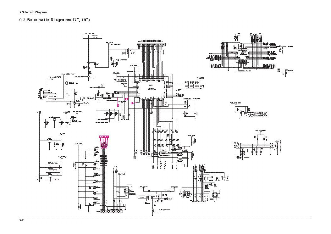SAMSUNG 740N Service Manual download, schematics, eeprom