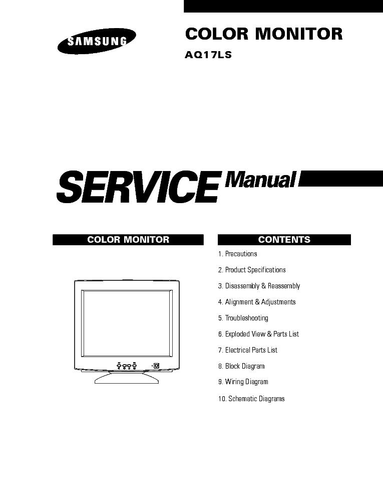 SAMSUNG P2270HD CH. LEM22DS P2370HD CH. LEM23DS Service
