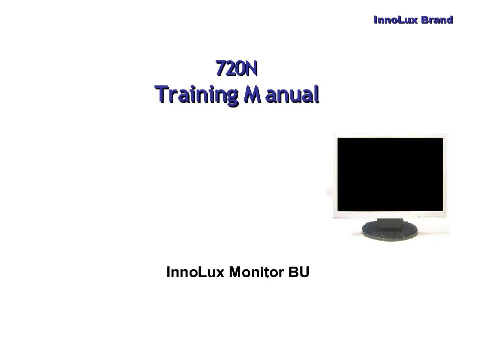 SAMSUNG MCKINLEY 2043BW LS23MYZKFVXAA TRAINING MONITOR