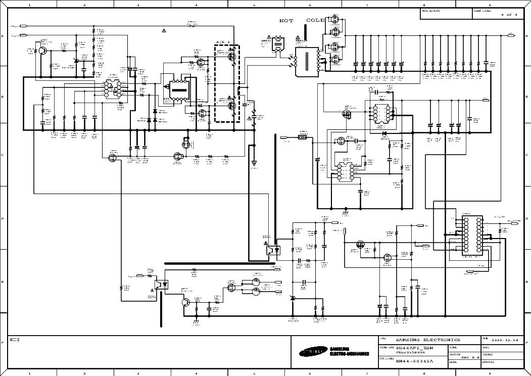 SAMSUNG BN44-00362A PD46AF2 PSU 2009 SCH Service Manual