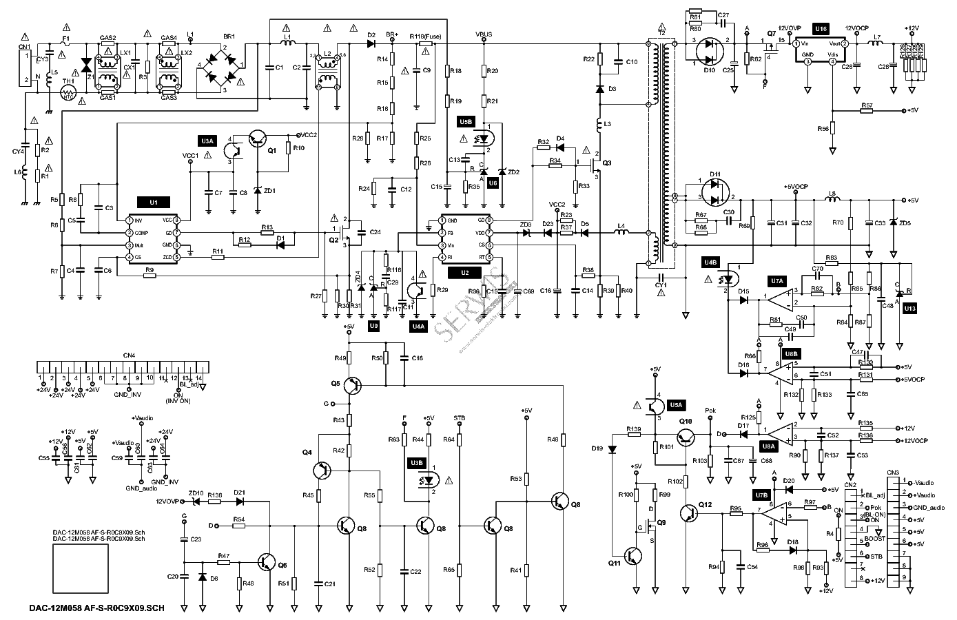 delta_dac-12m058af-s-r0c9x09_sch.pdf_1 Powerflex Wiring Diagram Pdf on 5hp dimensions, ul type 1 kit for, brake resistor, i o wiring, fan disable, cat4 exemple, frame size, using curve, mov jumper, enclosure kit, open cover,