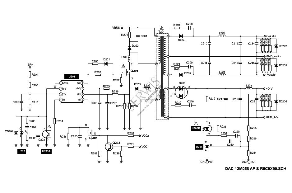 DELTA DAC-12M058AF-S-R0C9X09 SCH Service Manual download