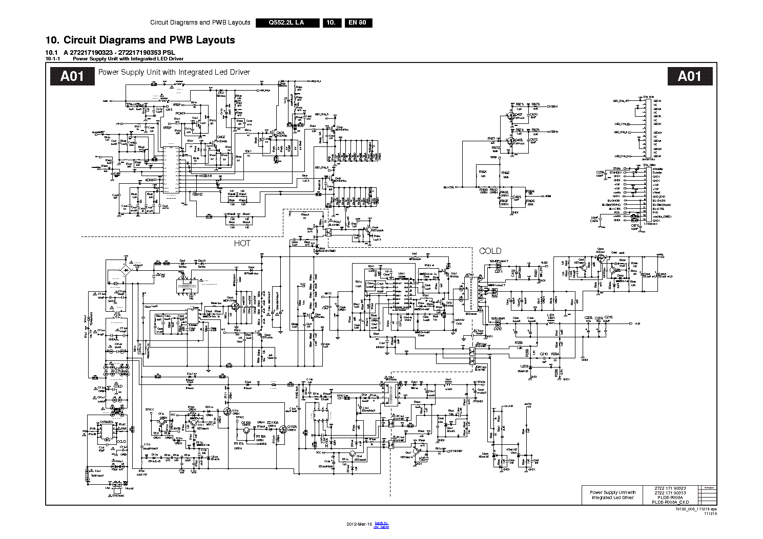 Lg Tv Schematic Diagram