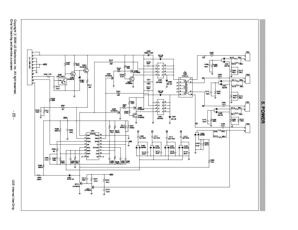 LG AIP-0165 L227WGP POWER-INVERTER SCH Service Manual