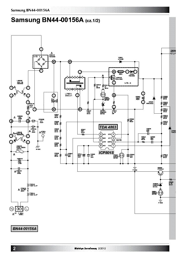 Samsung Tv Schematics LCD TV Schematics ~ Elsavadorla