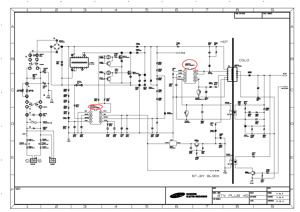 Samsung Tv Schematic Diagrams • Wiring And Engine Diagram