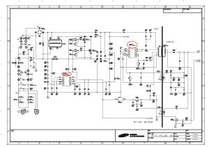 SAMSUNG BN4400176A POWER SUPPLY SCH Service Manual