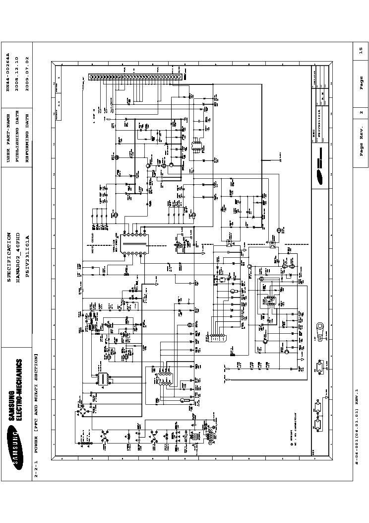 SAMSUNG BN44-00439A POWER SUPPLY SCH Service Manual