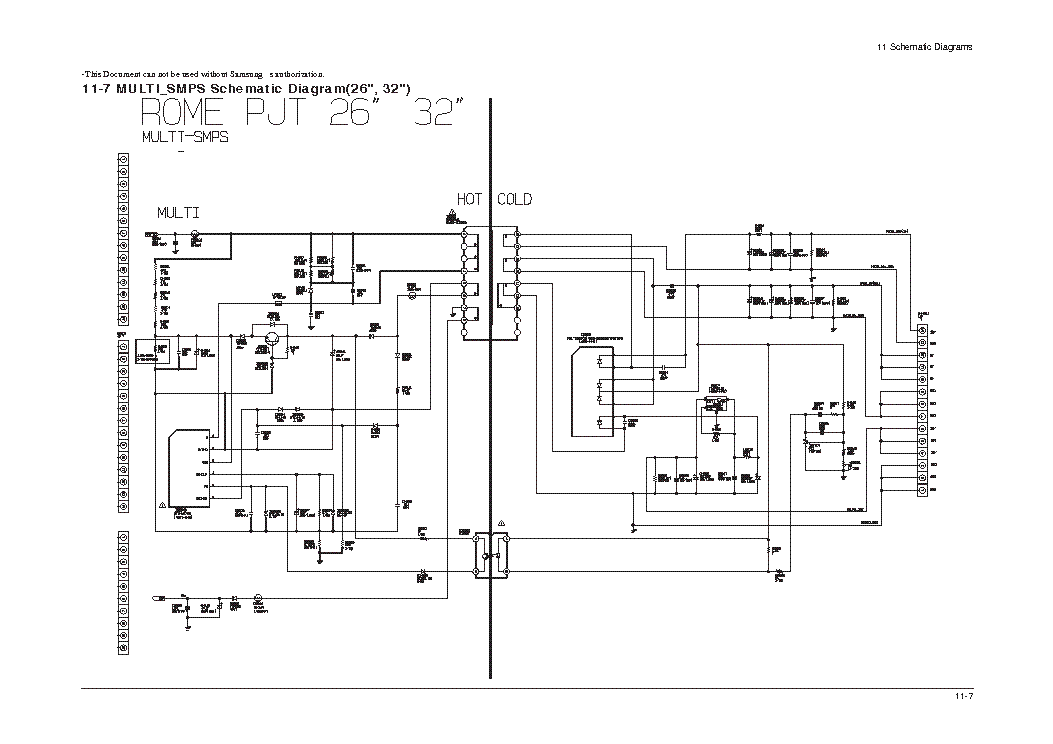 SAMSUNG BN96-01882C POWER SUPPLY SCH Service Manual