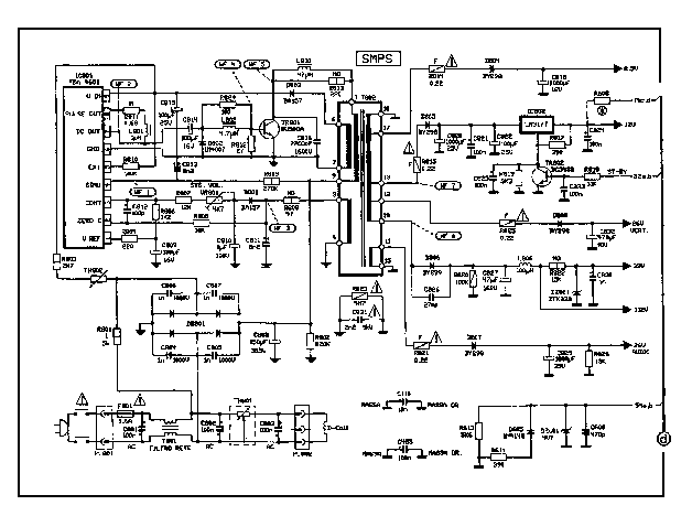 11AK03 POWER SCHEMATIC SCH Service Manual download