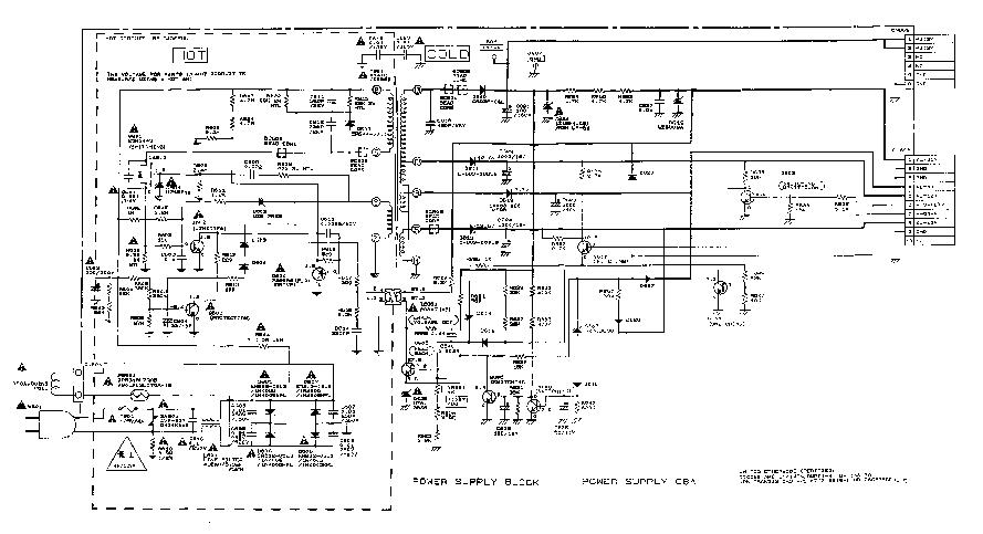 13VR10B POWER SCHEMATIC SCH Service Manual download
