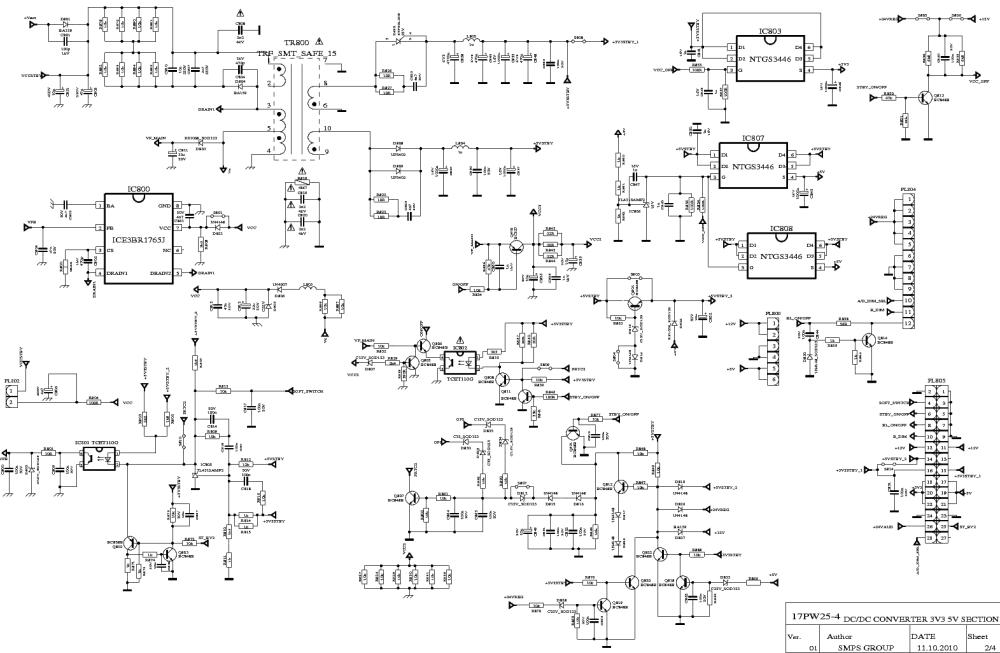 medium resolution of vestel 17pw25 4 technika 32l 914 power sch service manual download 17pw25 4 circuit diagram