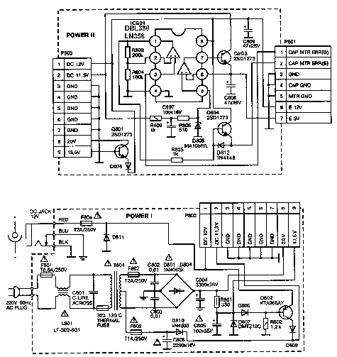 DAEWOO FEL 3226H POWER SUPPLY Service Manual download, schematics, eeprom, repair info for