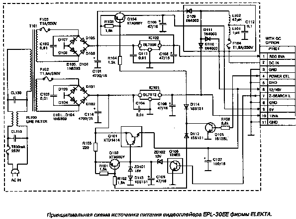 DAEWOO DV-500ES SCH Service Manual download, schematics