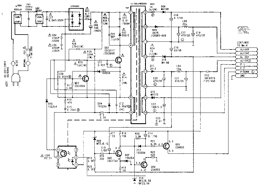 FUNAI Service Manual download, schematics, eeprom, repair