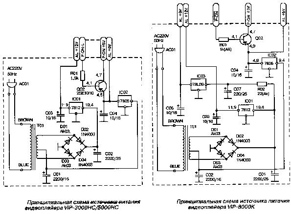 FUNAI BA4GP0F01021 A4DPAMPW-001 PL14.16 PL14.32 PSU