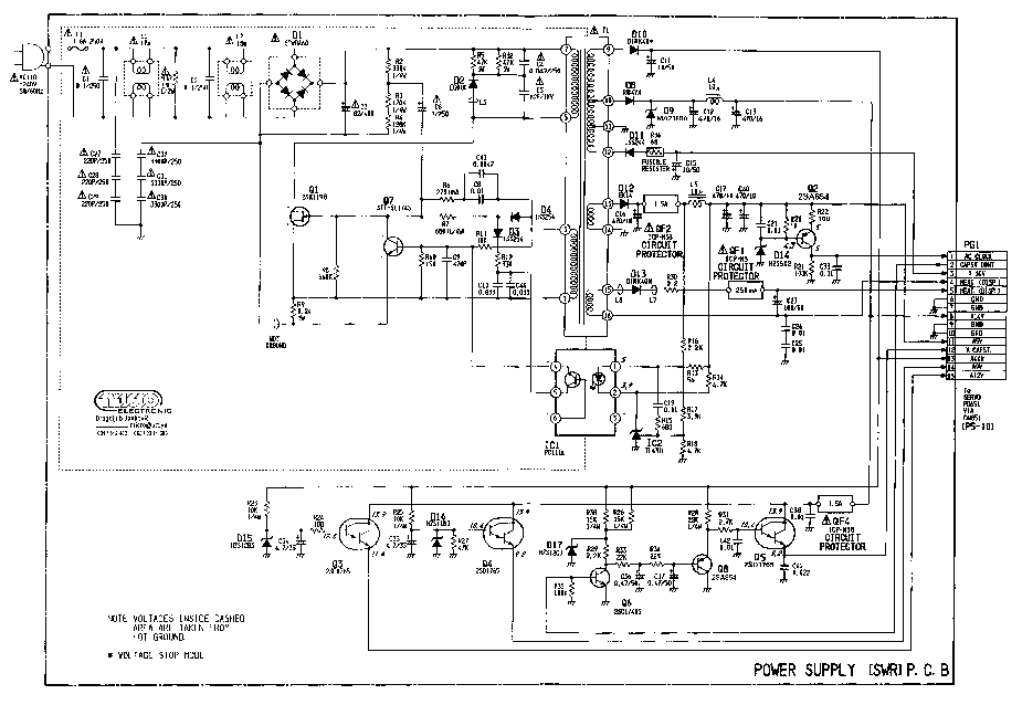 HITACHI VT-M727E Service Manual free download, schematics