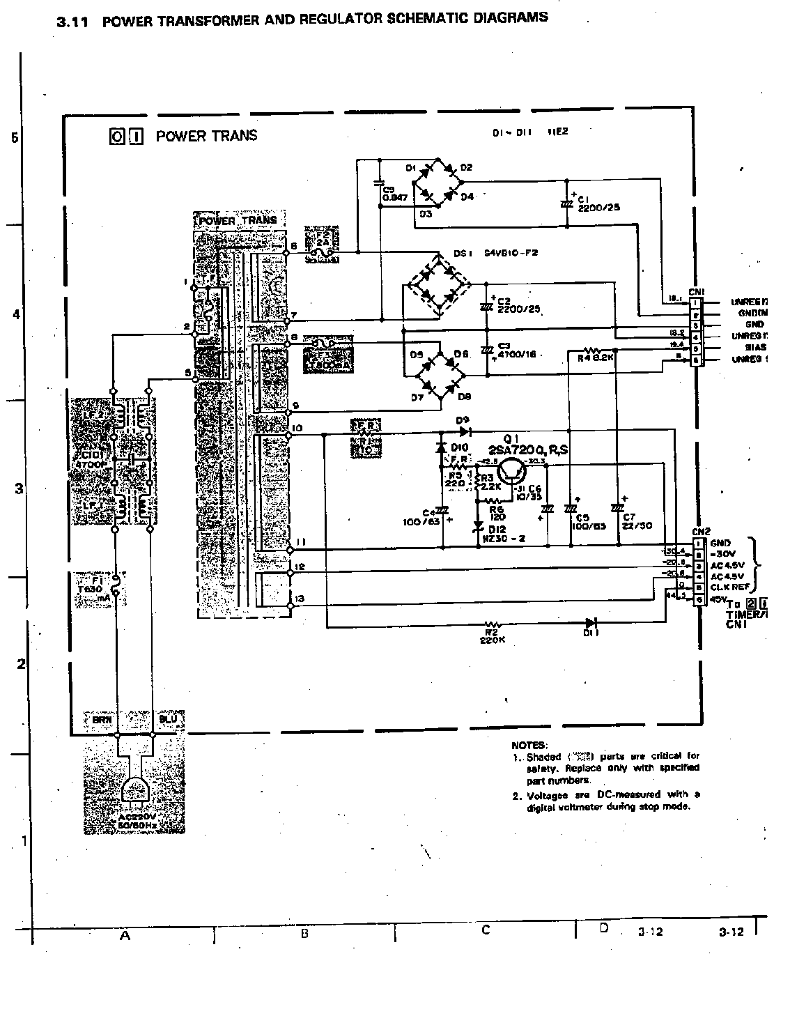 hight resolution of jvc hr d210 service manual 2nd page