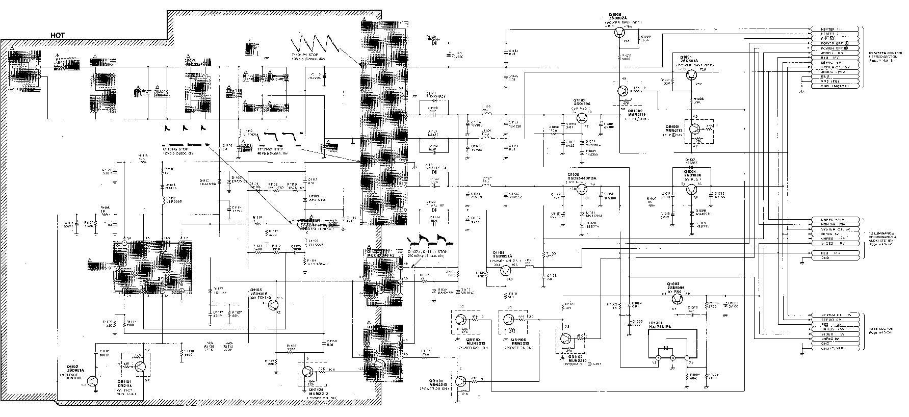 Electrical Schematics For Panasonic Plasma Tv Panasonic TV