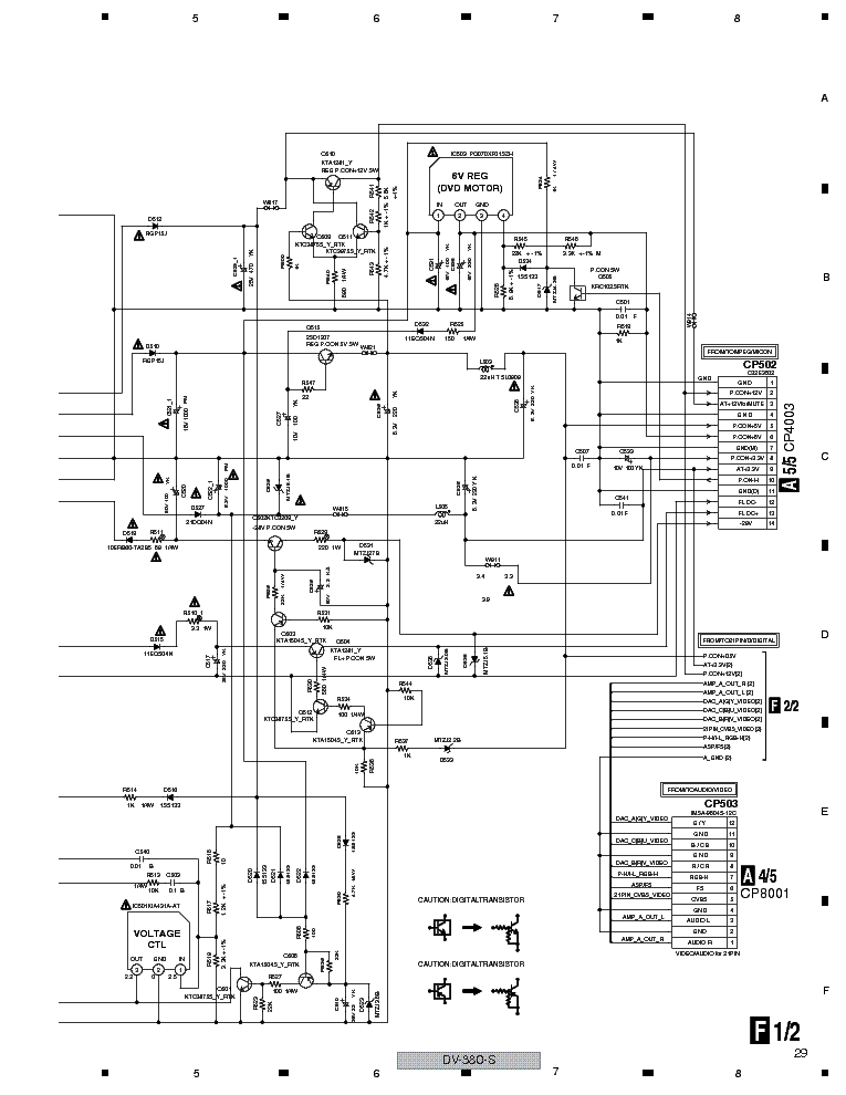 PHILIPS DV-380-S Service Manual download, schematics