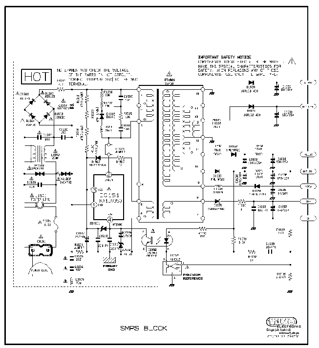 SAMSUNG BN44-00340B BN44-00440A POWER SCH Service Manual
