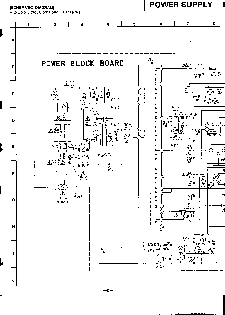 SONY SLV-E580 E630 E727 E730 E735 E780 SCH Service Manual