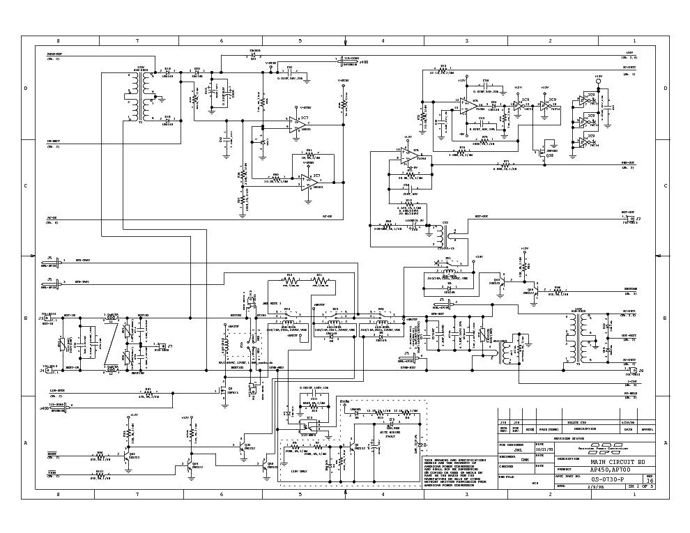 rack mounted ups wiring diagram