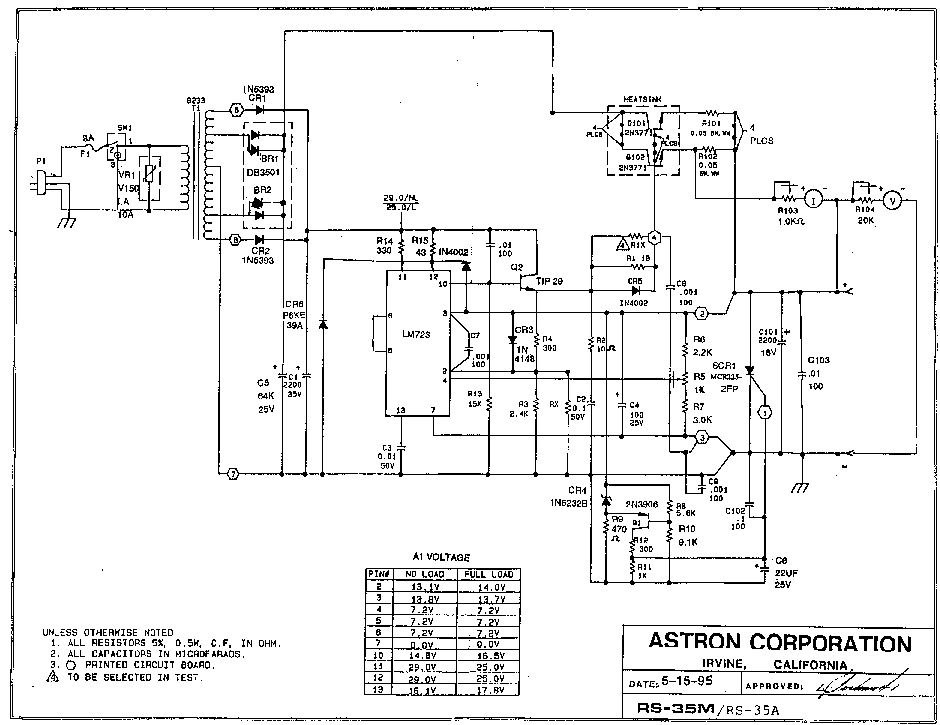ASTRON ALL RS SERIES SCH Service Manual download