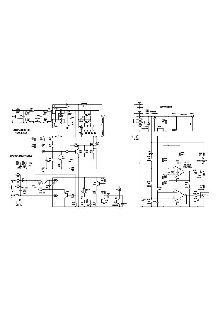 DELTA ADP-90SB BB Service Manual download, schematics
