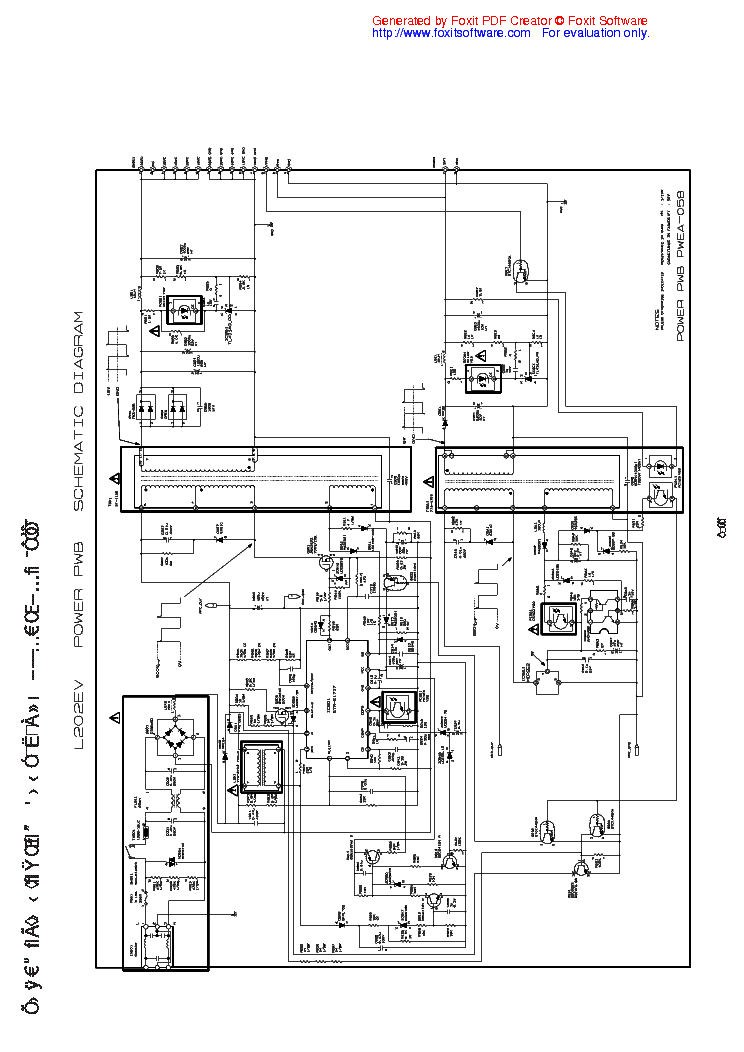 NEC JB P8851 SCH Service Manual download, schematics