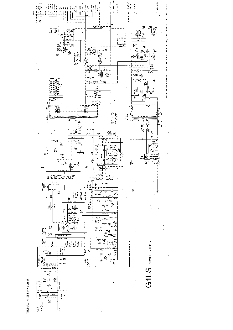 POWER SUPPLY G1LS-AZ1N SCH Service Manual download