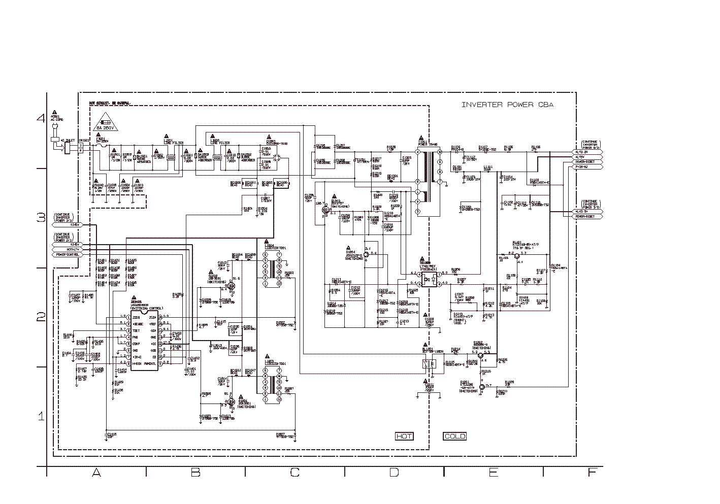 FUNAI MS-20 POWER-SUPPLY SCH Service Manual download