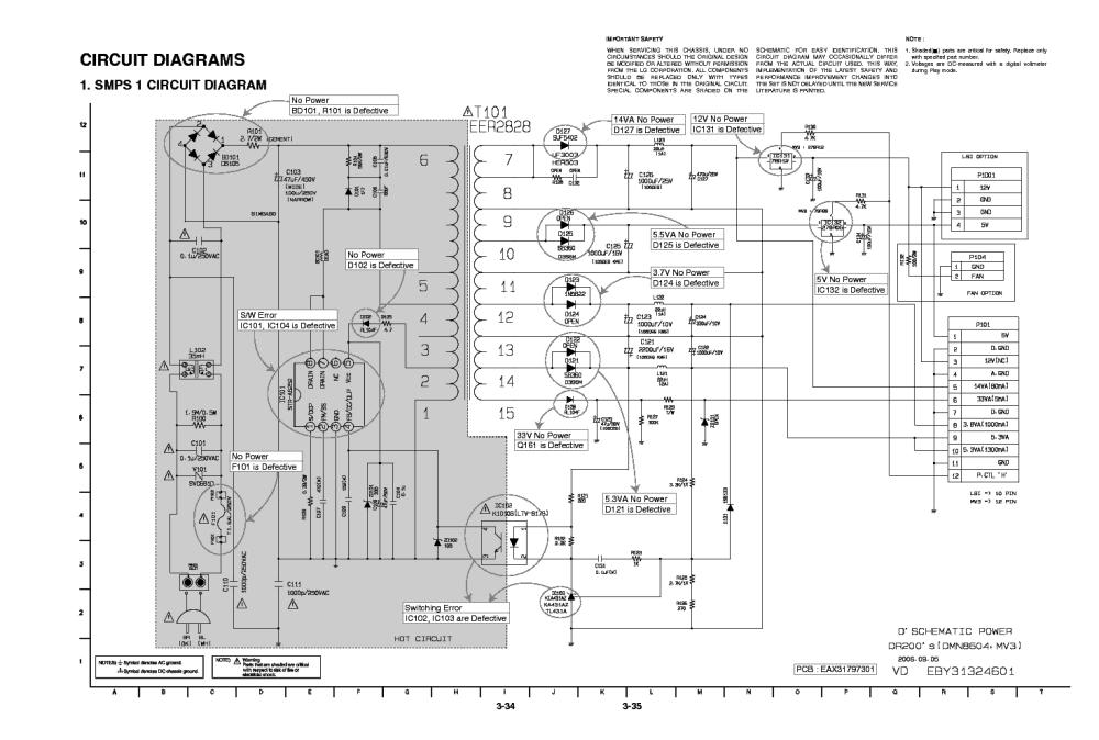 medium resolution of lg eax31797301 eby31324601 power supply