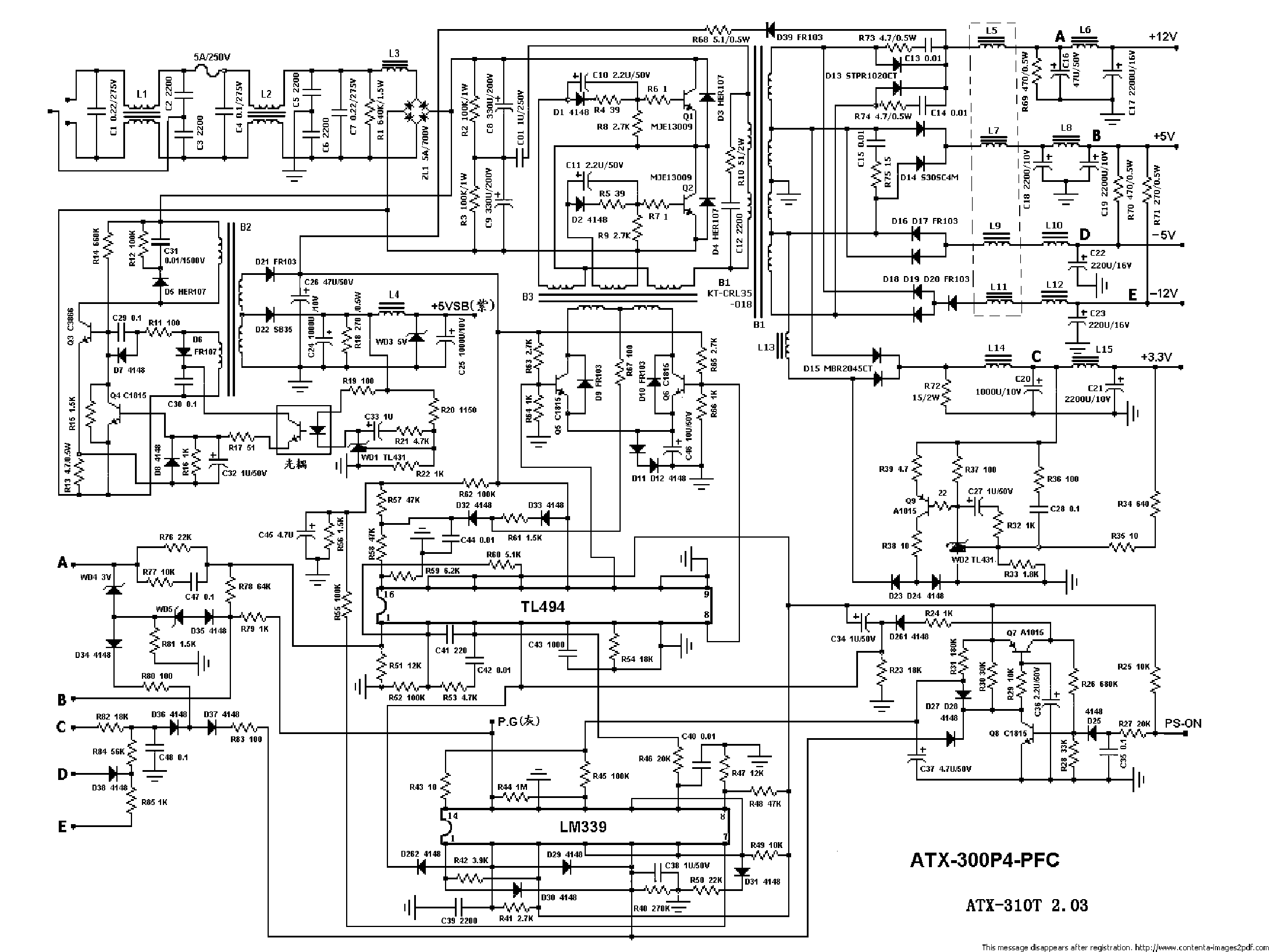 atx power supply wiring diagram shower stall wire data